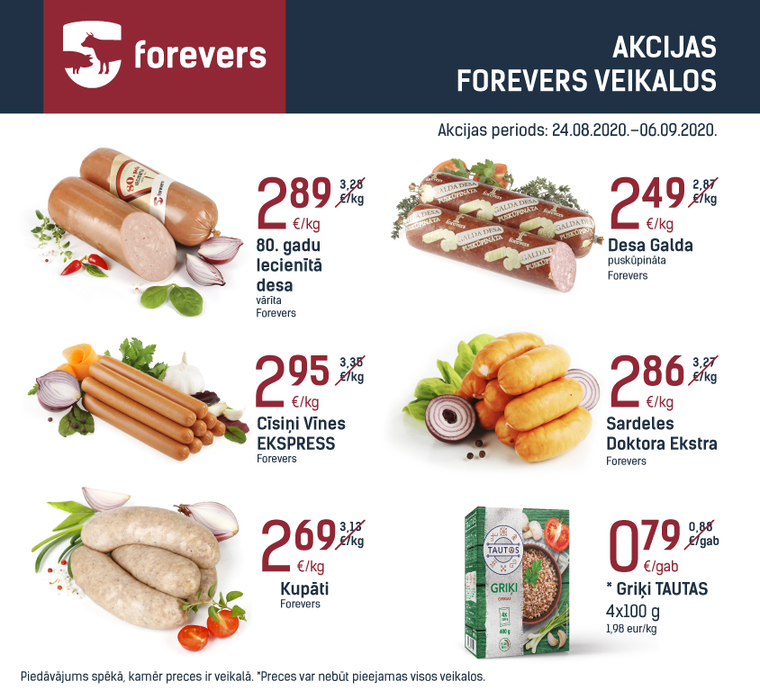 Forevers 24.08.2020.–06.09.2020 damme 844x767
